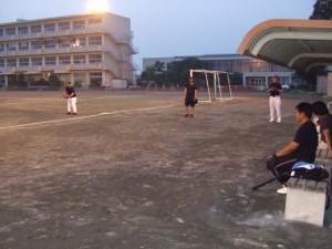 ソフトボール活動の様子1