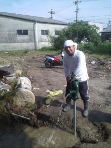 青年部員による夢の農園の活動1-3