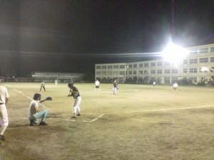 ソフトボール練習試合の様子2