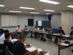 清洲産業まつりの打ち合わせ会議の様子1