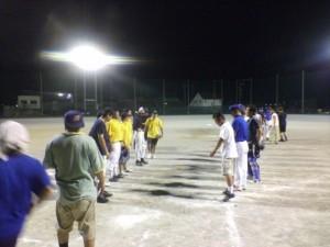 西春日井郡青年部親睦ソフトボール大会1