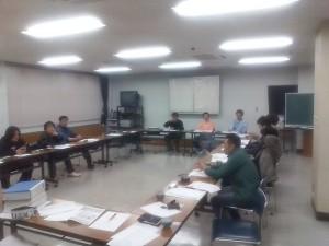 平成20年青年部通常総会の打ち合わせ会議1