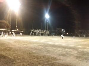 ソフトボールの練習試合の様子1