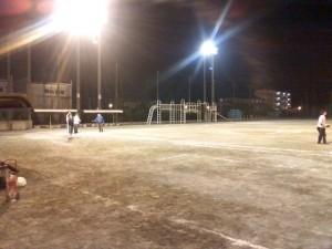 ソフトボールの練習の様子2