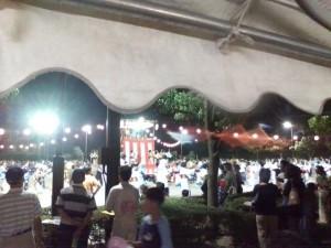 清須市納涼盆踊りの様子1