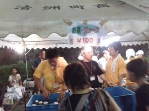 清須市納涼盆踊りの様子2