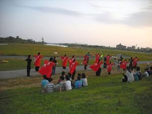よさこいダンス@西枇杷島まつり1
