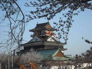 清洲城お花見4