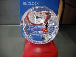 ミッキーマウス時計