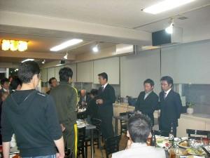 総会後の懇親会4