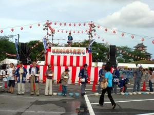 宵祭り打ち水大作戦2010