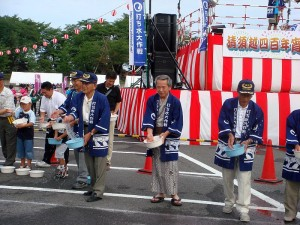 宵祭り打ち水大作戦201002