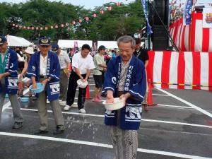 宵祭り打ち水大作戦201003
