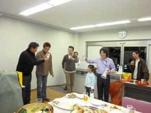 2011年青年部部員家族忘年会13