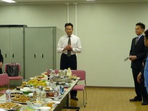平成23年度総会後の懇親会07