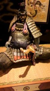 戦国武将陶人形師