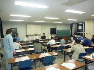 青年部全体会議-2011年5月17日1